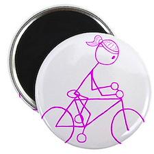 biker pink.gif Magnet