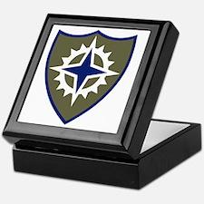 XVI Corps Keepsake Box