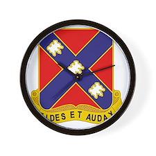 134th_Field_Artillery_Regiment_DUI Wall Clock