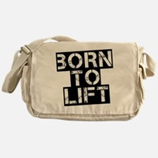 born-to-lif-bt Messenger Bag
