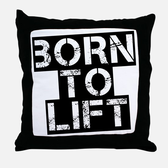 born-to-lif-bt Throw Pillow