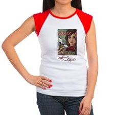 carmen_tote_bag2 Women's Cap Sleeve T-Shirt