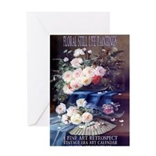 1 A FloralStillLife-CARLIER Greeting Card