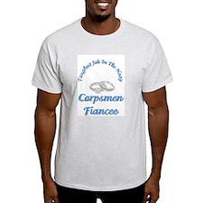 corpsmen fiancee Ash Grey T-Shirt