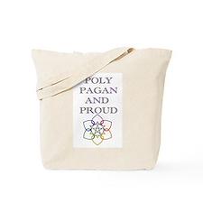 Poly Pagan and proud 2 Tote Bag