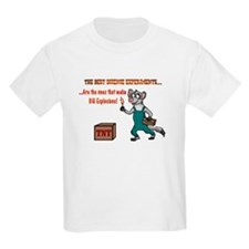 """""""Kevin's science experiment"""" Kid's T-Shirt"""