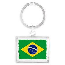 brazil 2 Landscape Keychain