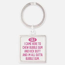 13.1KickButt Square Keychain