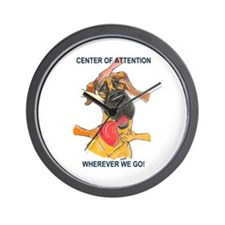 NF Center of Attention Wall Clock