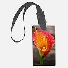 calla lily Luggage Tag
