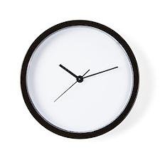 chihuahua_white Wall Clock