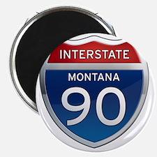 Interstate 90 - Montana Magnet