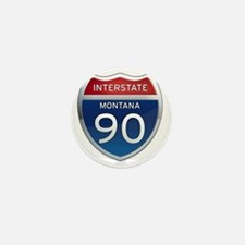 Interstate 90 - Montana Mini Button