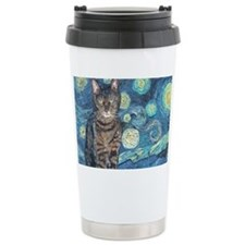 4x6Starey NightCat Travel Coffee Mug