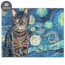 4x6Starey NightCat Puzzle