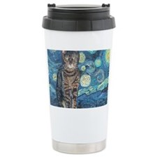 8x10Starey NightCat Travel Mug