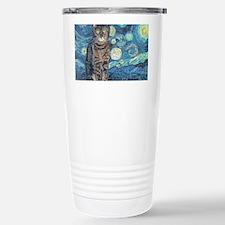 8x10Starey NightCat Travel Mug