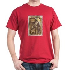 USSR Russia Telescope Red Astronomy T-Shirt