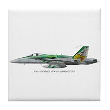 VFA-195 Dambusters Tile Coaster