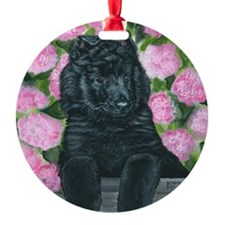 bel shep flower baby Ornament