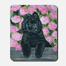 bel shep flower baby Mousepad