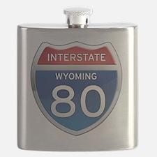 Interstate 80 - Wyoming Flask