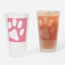 PAWPINK Drinking Glass