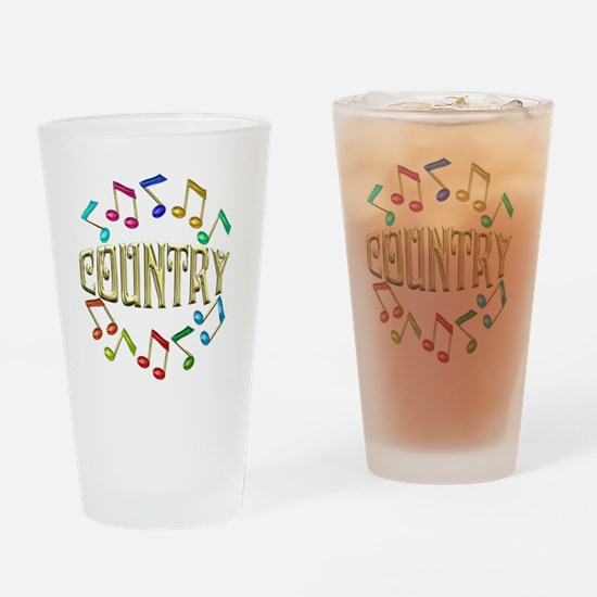 COUNTRY Drinking Glass