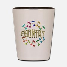 COUNTRY Shot Glass