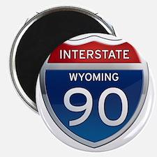 Interstate 90 - Wyoming Magnet