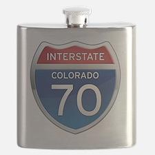 Interstate 70 - Colorado Flask