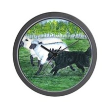 bel shep herd Wall Clock