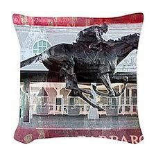 Barbaro 2 Woven Throw Pillow