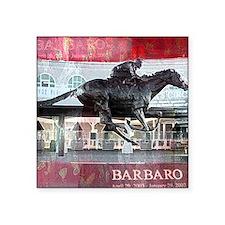 """Barbaro 2 Square Sticker 3"""" x 3"""""""