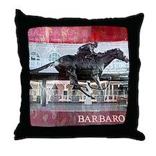 Barbaro 2 Throw Pillow