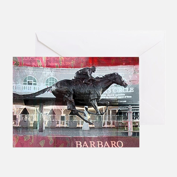 Barbaro 2 Greeting Card