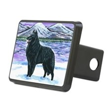bel shep snow Hitch Cover