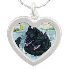 bel shep versatility Silver Heart Necklace