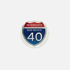 Interstate 40 - New Mexico Mini Button
