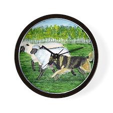 bel terv herd Wall Clock