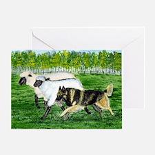 bel terv herd Greeting Card