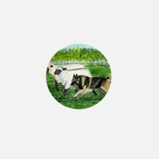 bel terv herd Mini Button