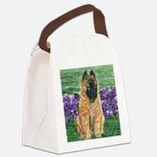 bel terv pup Canvas Lunch Bag