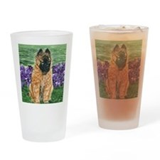 bel terv pup Drinking Glass