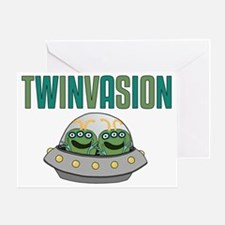 TWINVASION11a Greeting Card