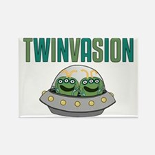 TWINVASION11a Rectangle Magnet