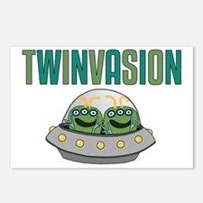 TWINVASION11a Postcards (Package of 8)