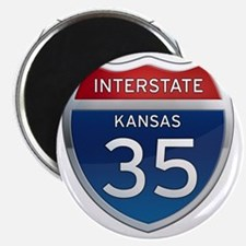 Interstate 35 - Kansas Magnet
