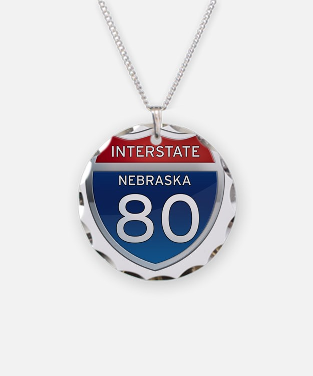 Interstate 80 - Nebraska Necklace