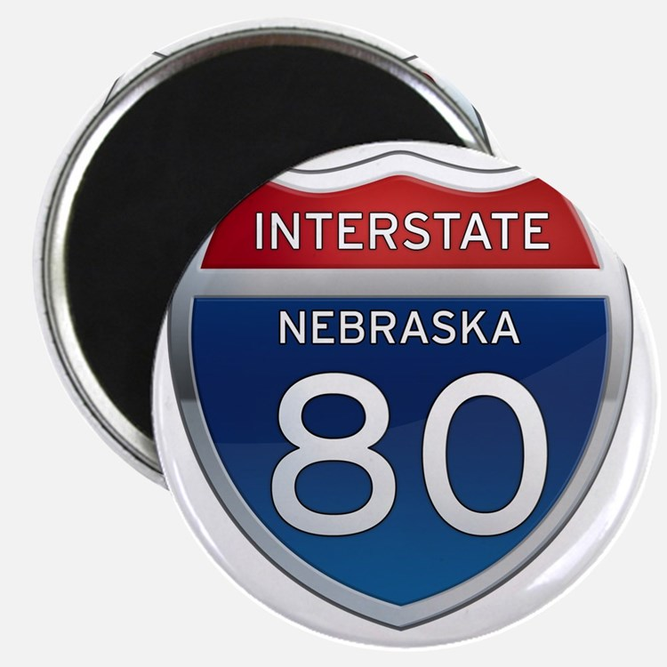 Interstate 80 - Nebraska Magnet